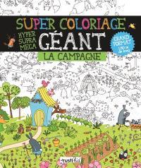 Super coloriage géant : la campagne