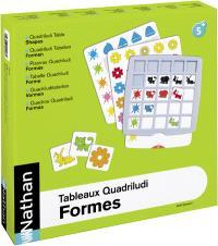 Tableaux Quadriludi, formes