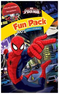 Ultimate Spider-Man : fun pack 100 % colo et stickers