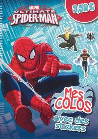 Ultimate Spider-Man : mes colos avec des stickers