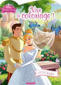 Vive le coloriage ! : Cendrillon