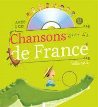 Chansons de France pour les petits. Volume 2