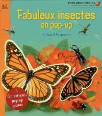 Fabuleux insectes en pop-up