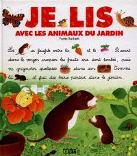 Je lis avec les animaux du jardin
