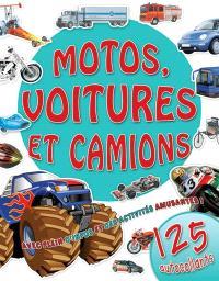 Motos, voitures et camions