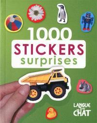 1.000 stickers surprises