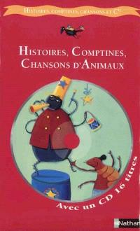 Histoires, comptines, chansons d'animaux