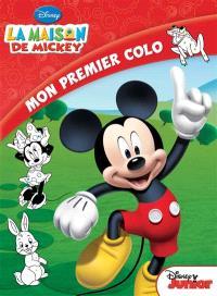 La maison de Mickey : mon premier colo