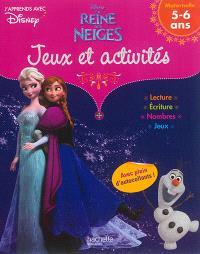 La reine des neiges : jeux et activités : maternelle 5-6ans