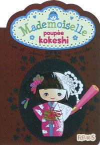 Mademoiselle poupée Kokeshi : crée et colorie tes modèles