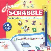 Scrabble junior : pour écrire tes premiers mots en t'amusant