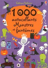 1.000 autocollants monstres et fantômes