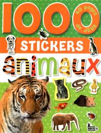 1.000 stickers animaux