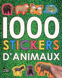 1.000 stickers d'animaux