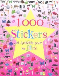 1.000 stickers et activités : pour les filles