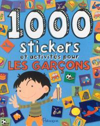 1.000 stickers et activités pour les garçons