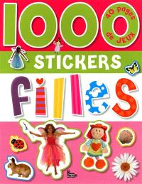 1.000 stickers filles