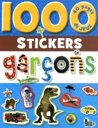 1.000 stickers garçons