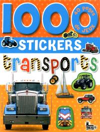 1.000 stickers transports