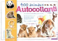 400 animaux autocollants