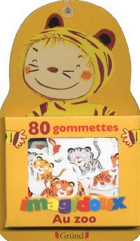 80 gommettes Imagidoux : au zoo