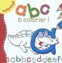 ABC à colorier !