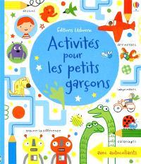 Activités pour les petits garçons