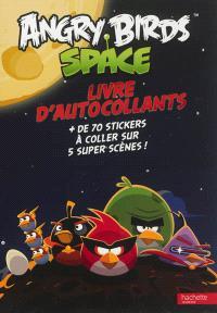 Angry birds, space : livre d'autocollants