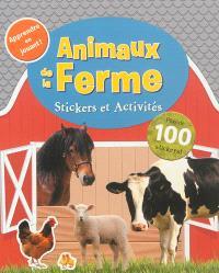 Animaux de la ferme : stickers et activités