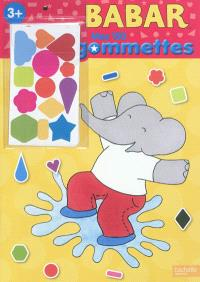 Babar, mes 150 gommettes, 3+