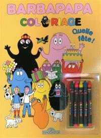 Barbapapa : quelle fête ! : coloriage