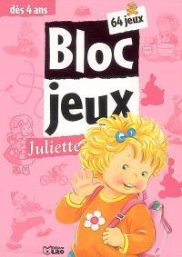 Bloc-jeux Juliette : 64 jeux, dès 4 ans