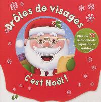 C'est Noël ! : plus de 70 autocollants repositionnables