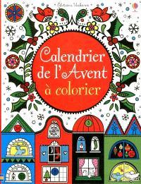 Calendrier de l'Avent 2012 à colorier