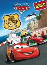 Cars : mes colos avec des stickers