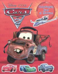 Cars 2 : coloriages, jeux et stickers
