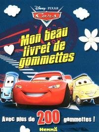 Cars, mon beau livret de gommettes
