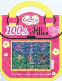 Charlotte aux fraises 100 % filles