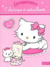 CharmmyKitty : coloriages et autocollants