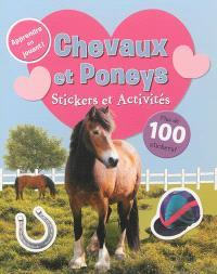 Chevaux et poneys : stickers et activités
