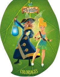 Clochette et la fée pirate : coloriages