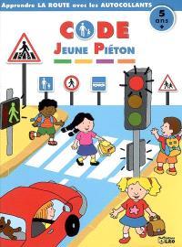 Code jeune piéton 5 ans : apprendre la route avec les autocollants