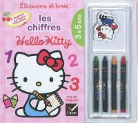 Découvre et écris les chiffres : Hello Kitty