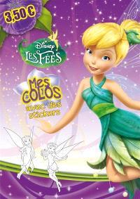 Disney les fées : mes colos avec des stickers