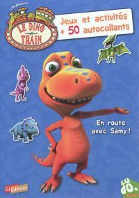 En route avec Samy ! : jeux et activités + 50 autocollants