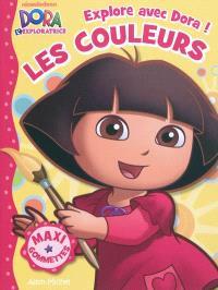 Explore avec Dora !, Les couleurs