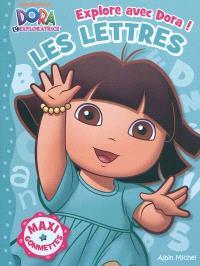 Explore avec Dora !, Les lettres