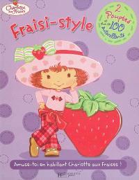 Fraisi-style : amuse-toi en habillant Charlotte aux fraises !