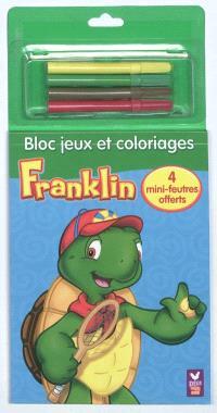 Franklin : bloc jeux et coloriages