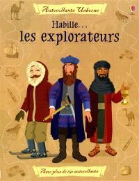 Habille les explorateurs